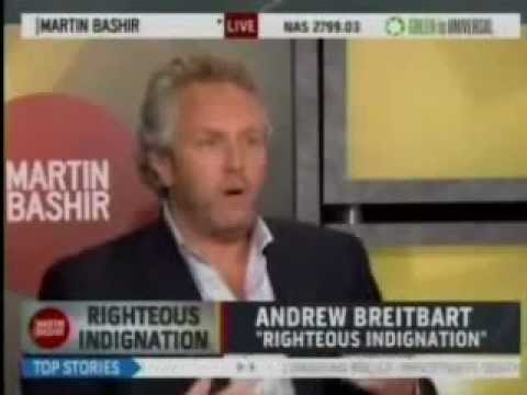 Andrew Breitbart Destroys MSNBC's Failed, 3rd-Rate Liberal Smear Merchant Martin Bashir