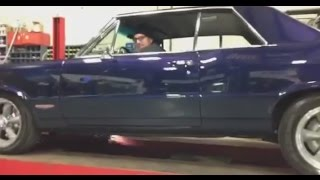 1965 GTO 455 Beautiful Exhaust Sound & FLAMES!