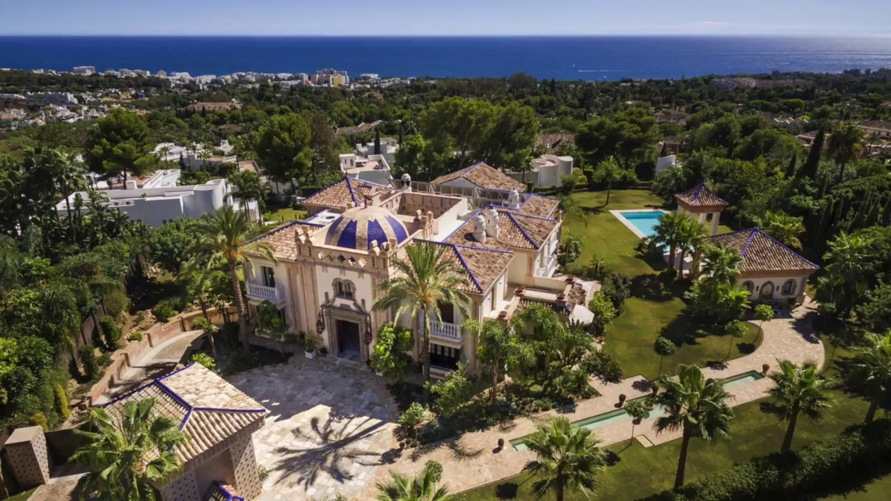 Golden Mile Palatial Mansion for sale in a gated community