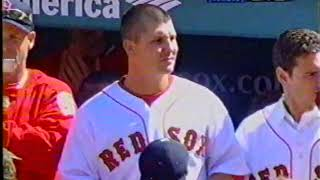 Red Sox Yankees Opening Ceremonies 2005
