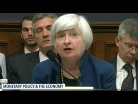 Federal Reserve Chair Janet Yellen Tells Congress To Expect Moderate Pace Of Economic Growth