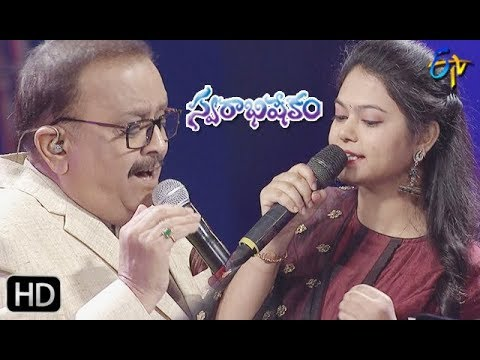 Keeravani Song  Sp Balu,ramya Behara Performance  Swarabhishekam  9th June 2019  Etv Telugu