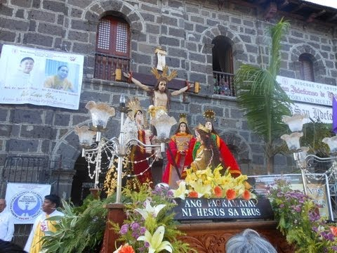 San Ildefonso De Toledo Parish Good Friday Procession 2013 (PART 1)