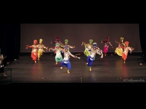 Ministry of Bhangra (Sydney) @ Harbour City Bhangra 2016 (3rd Place)