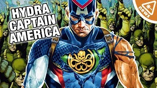 How Marvel Will Resolve the Hydra Captain America Story! (Nerdist News w/ Kyle Hill & Dan Casey)