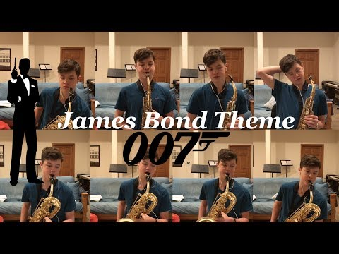 James Bond Theme Saxophone Multi-Track (from Casino Royale)