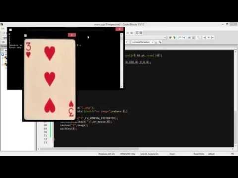 perspective transformation (OPENCV C++)