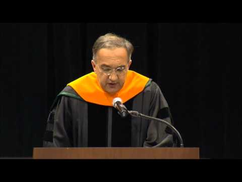 Marchionne Commencement Speech at Michigan State University