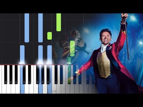 P!nk - A Million Dreams (The Greatest Showman Reimagined (Piano Tutorial)
