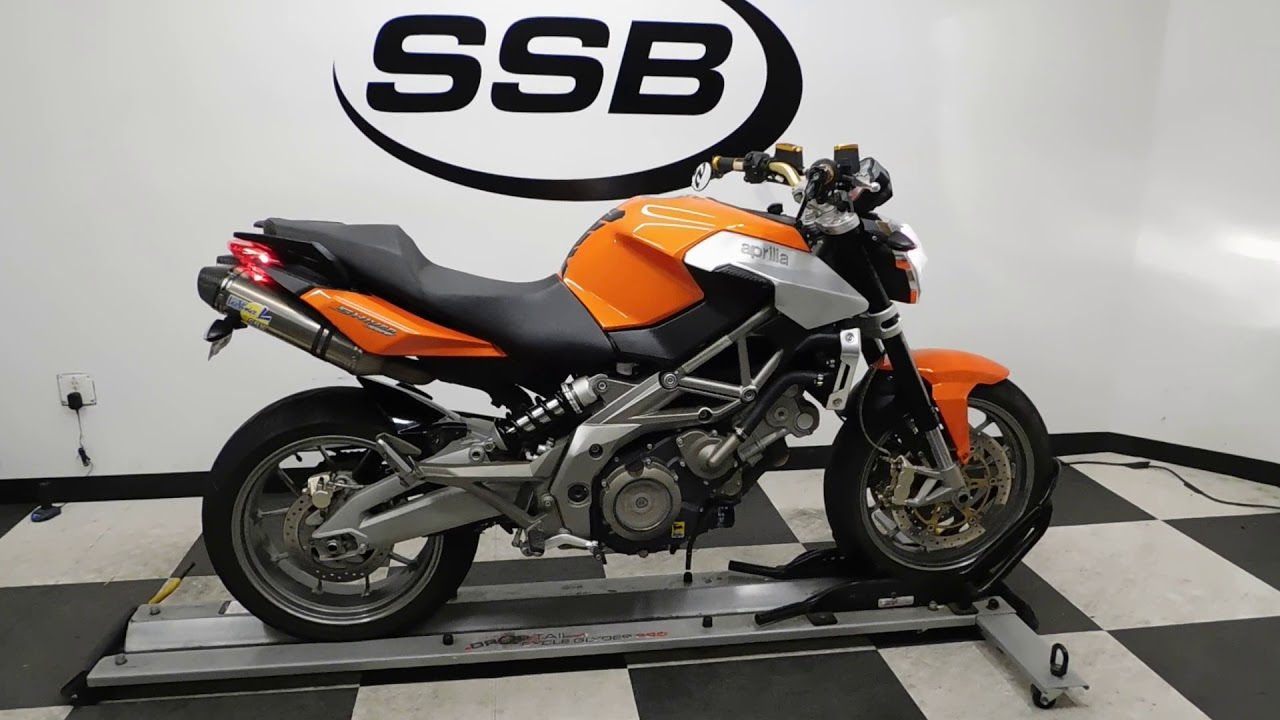 2008 Aprilia Shiver 750– used motorcycles for sale– Eden ...