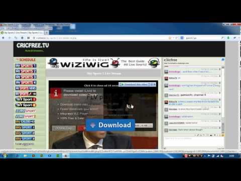HOW TO WATCH PROGRAMS ON Http://cricfree.tv