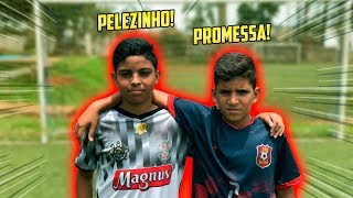 O TIME DO PELÉZINHO ENFRENTOU O TIME DO PROMESSA!!
