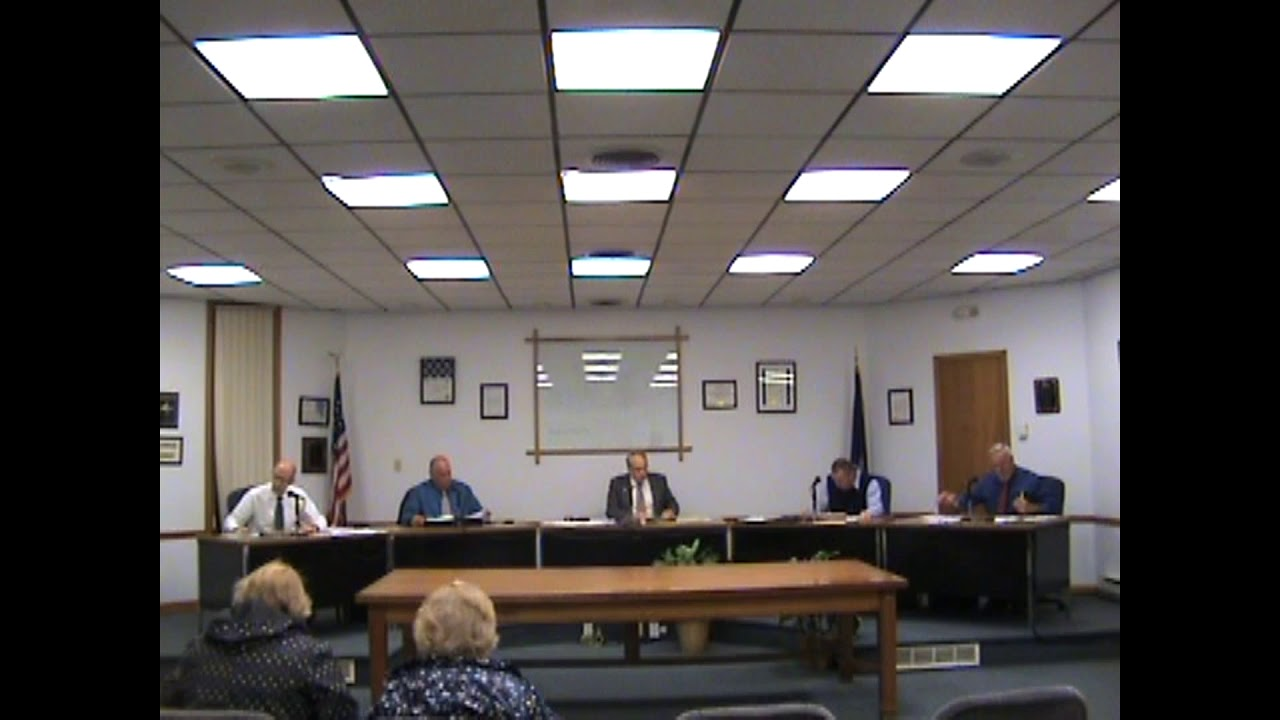 Rouses Point Village Board Meeting  10-15-18