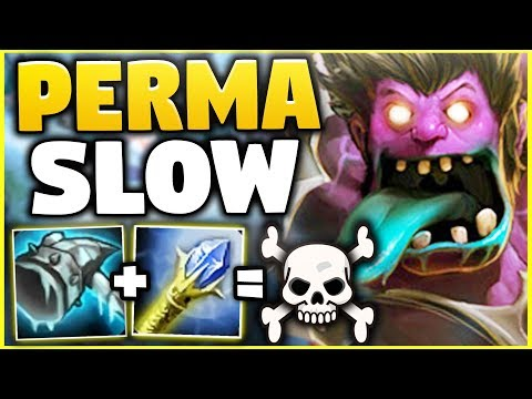 WTF? RIOT BUFFED DR. MUNDO WAY TOO MUCH! NOBODY CAN ESCAPE PERMA SLOW MUNDO! - League of Legends