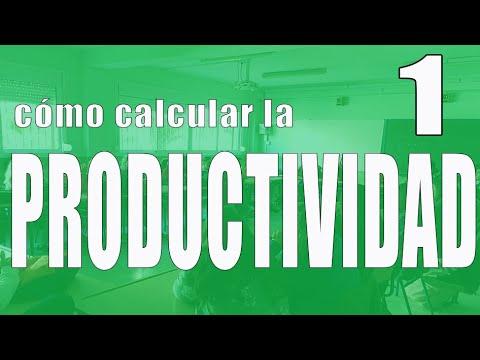 Ejercicios productividad (EBAU) REGIÓN DE MURCIA