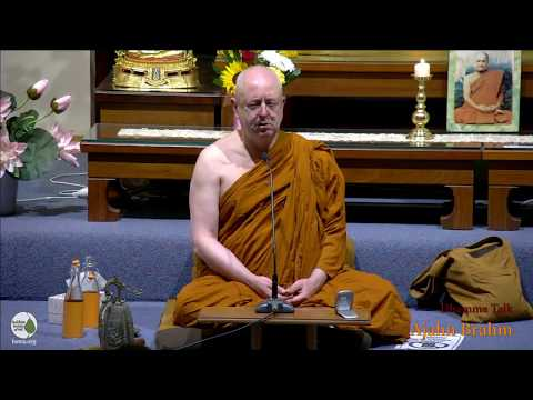 Friday Night Guided Meditation | Ajahn Brahm | 9 March 2018