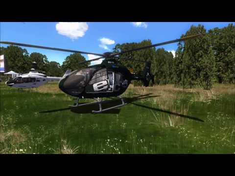 [FSX:SE] Helicopter | Traffic Pattern| Eurocopter 135| EC1335