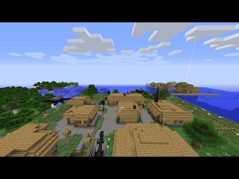 Minecraft 1.7.10 обзор сборки (55 модами)