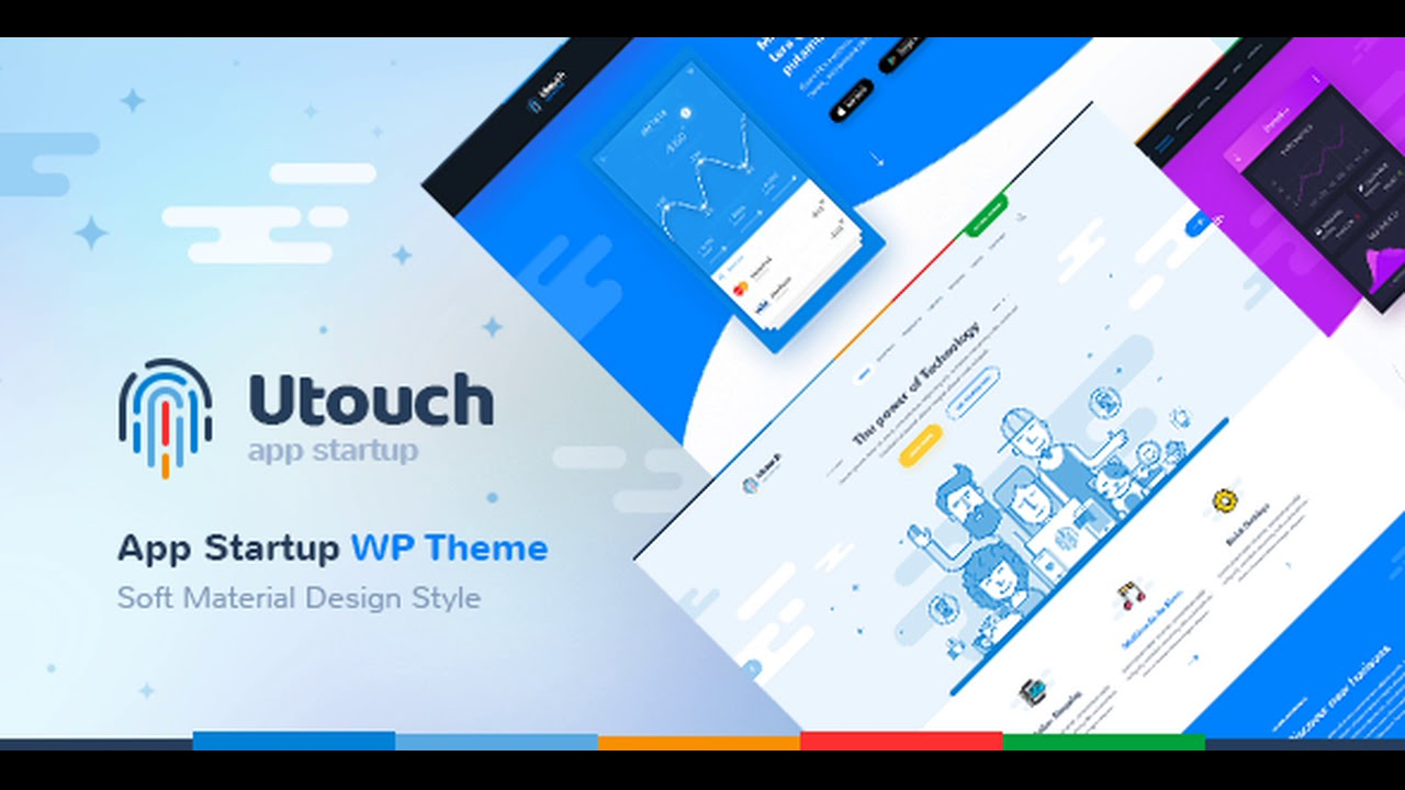 Utouch Startup – Multi-Purpose Business and Digital Technology WordPress Theme Nulled