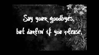 Repeat youtube video The Civil Wars - C'est la Mort (lyrics)