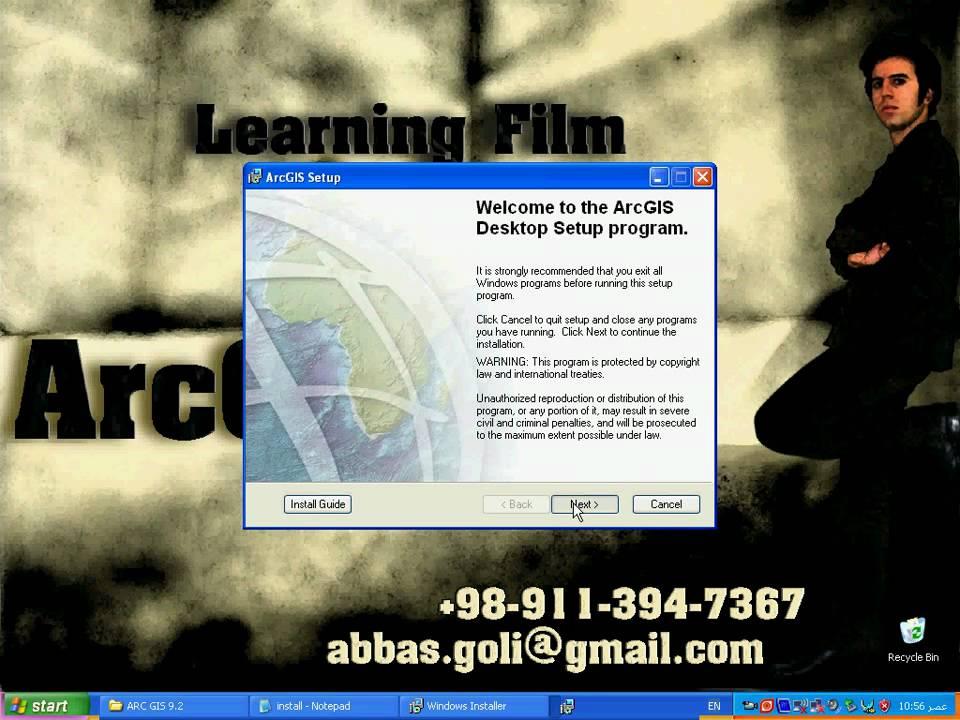 install arcgis 93 crack windows 7