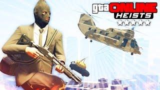 GTA 5 Online (Heists) - НАЛЕТ НА БАНК! #98