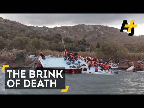 Dramatic Refugee Rescue In The Mediterranean