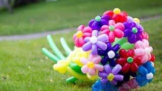 Как сделать цветы из шаров(Я в Вк http://vk.com/id301015342 Смотрите новые видео, подписывайтесь на канал друзья http://www.youtube.com/c/EeOnePlay., 2015-06-22T15:02:39.000Z)