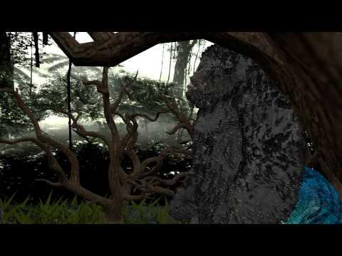 King Kong Vs V-Rex (Blender 3D)