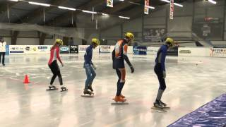 A-finale C-divisie - 5e KNSB cup Leeuwarden 500m