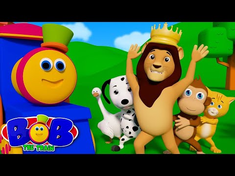 If You Are Happy And You Know It | Learn Nursery Rhymes by Bob The Train