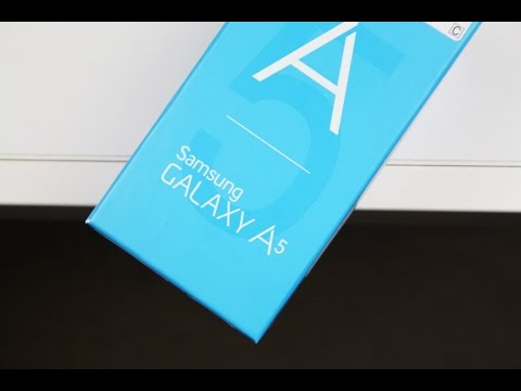 Samsung Galaxy A5 Unboxing Deutsch