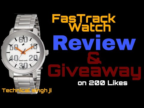 Giveaway : Fastrack Watch + Review ||Technical Singh Ji||