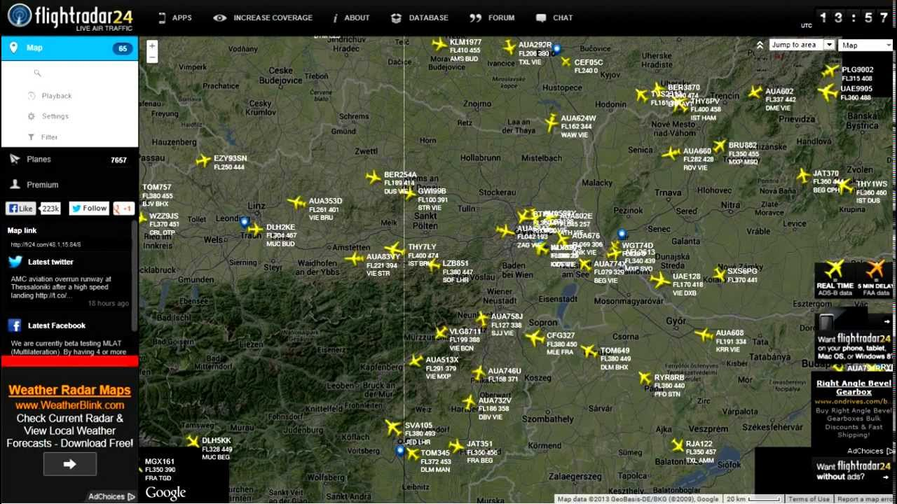 Air Traffic Map Live.Live Air Traffic Control Wien Radar 128 200 Youtube
