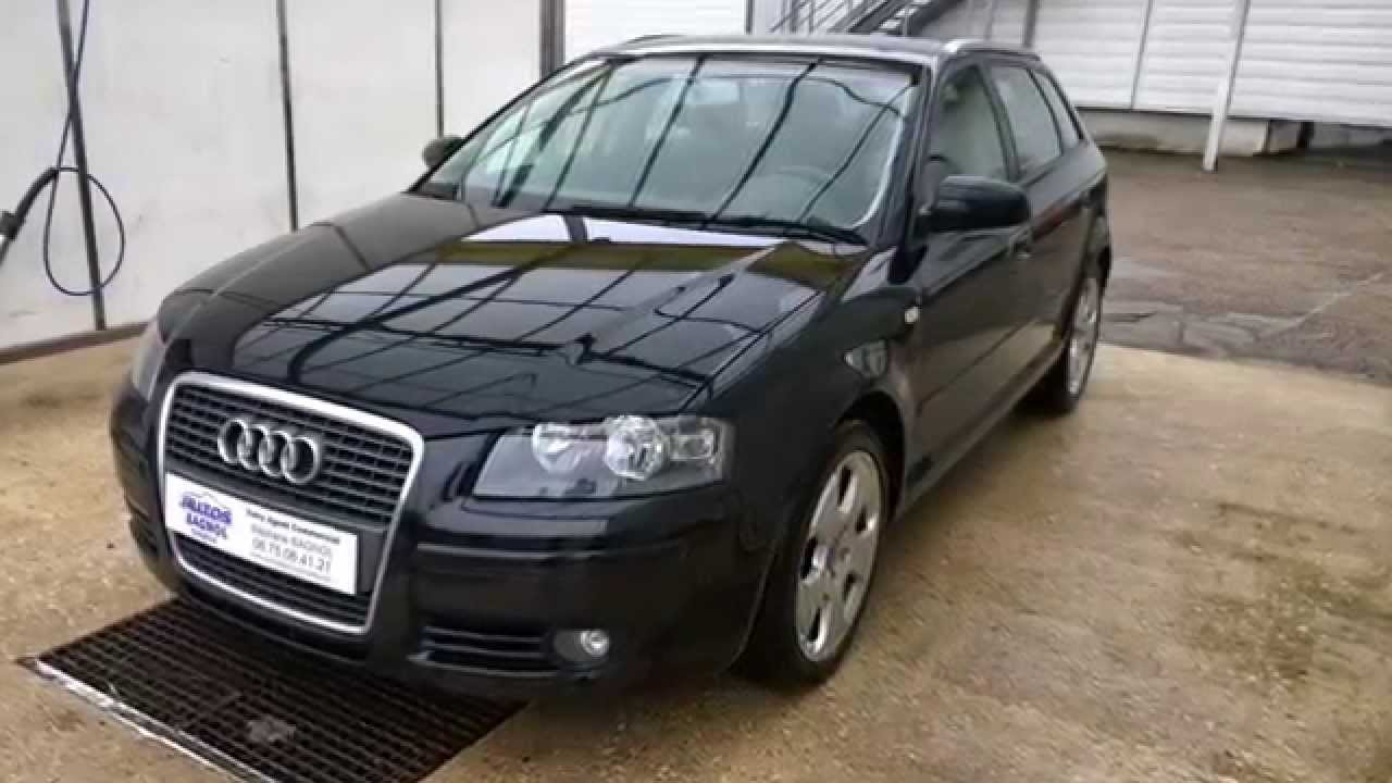 audi a3 1 9 tdi 105 sportback ambition youtube. Black Bedroom Furniture Sets. Home Design Ideas