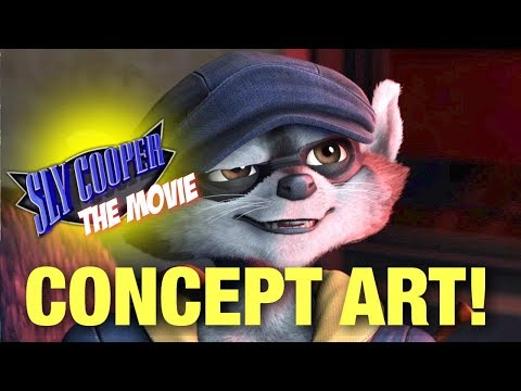 SLY COOPER MOVIE CONCEPT ART!