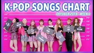 K-POP SONGS CHART | OCTOBER 2018 (WEEK 3)