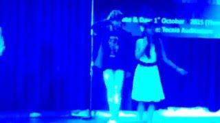 Jine Mera Dil Lutiya Dance Performance At Tecnia