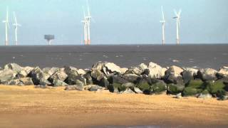 00001 At Very Windy Point Clear In Jaywick Clacton Essex Raw Unedited Video