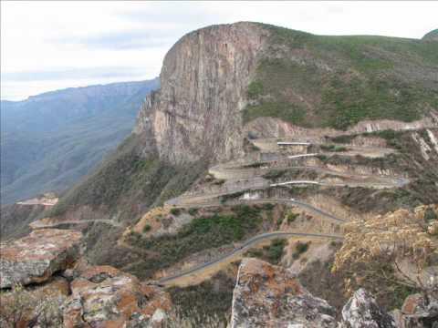 Serra da Leba, em Angola