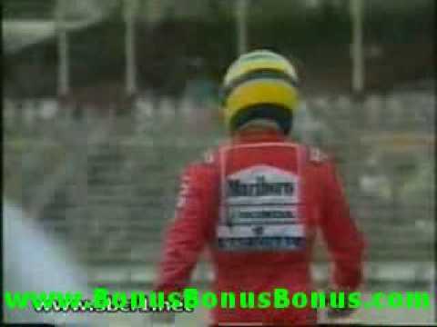 Senna/Schumacher Crash 1992 from YouTube · Duration:  31 seconds