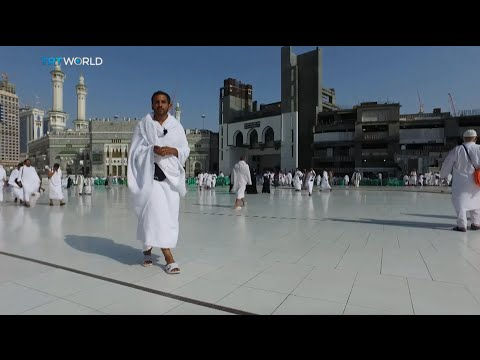 Pilgrims leave Mecca for the start of Hajj