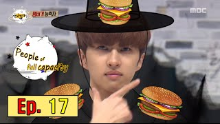 [People of full capacity] 능력자들 - VIXX KEN, Directly manufactured by a hamburger 'Quiz' 20160304