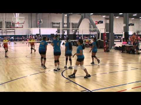 Offshore Volleyball 12-2 vs OC Heat 11's (Match 1) 3/7/15 (L)