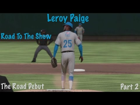 MLB The Show 16 - Leroy Paige - Road To The Show - Paige's First Road Game - Part 2