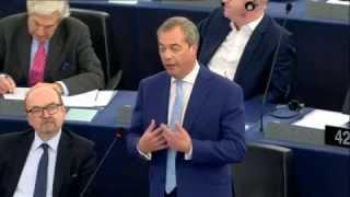 Nigel Farage over de migrantencrisis (27 oktober 2015) NEDERLANDS ONDERTITELD