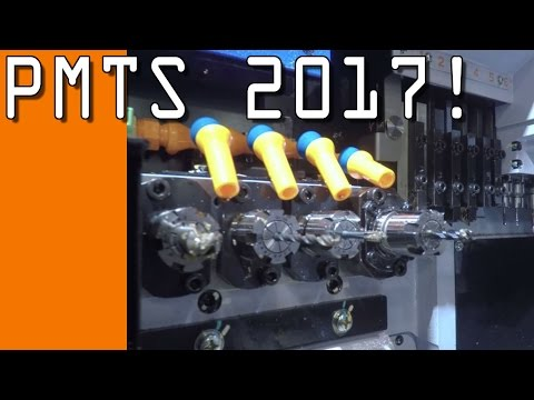 PMTS 2017: Awesome CNC Machines!