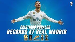 Cristiano Ronaldo Records At Real Madrid 2009 - 2018 ⚽ Cristiano Ronaldo Stats ⚽ Footchampion