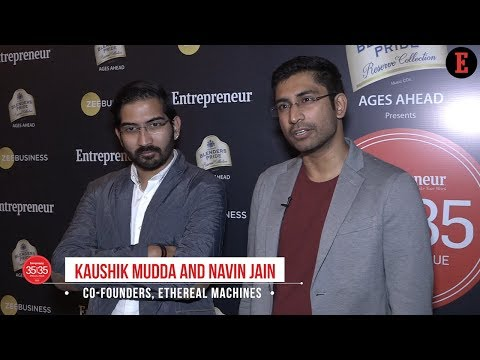 35Under35: The Ingenious Inkers - Kaushik Mudda & Navin Jain