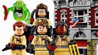 ЛЕГО Охотники за привидениями штаб квартира видео - Лего мультфильмы для мальчиков смотреть онлайн